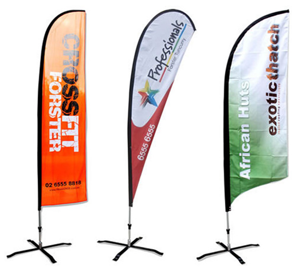 Wing Banners Teardrop Banners Australia Wide Delivery Bali Flags