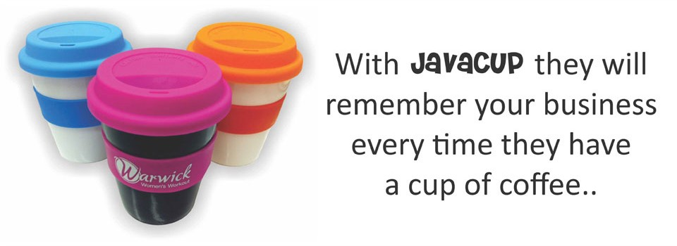With Javacup they will remember your business every time they have a cup of coffee