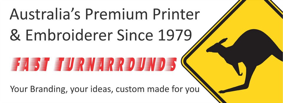 Australia's Premium Printer & Embroider Since 1979