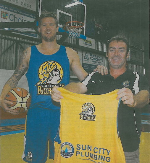 Imagepak Marketing Provides Training Sportswear Singlets for Geraldton Buccaneers