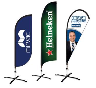 Teardrop & Wing Banners Perth by Imagepak
